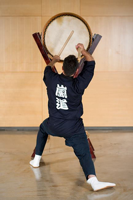 Erez on Odaiko